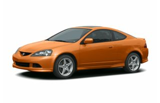 3/4 Front Glamour 2006 Acura RSX