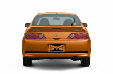Rear Profile  2006 Acura RSX