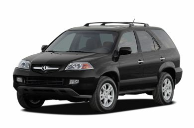 3/4 Front Glamour 2006 Acura MDX