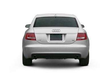 Rear Profile  2006 Audi A6