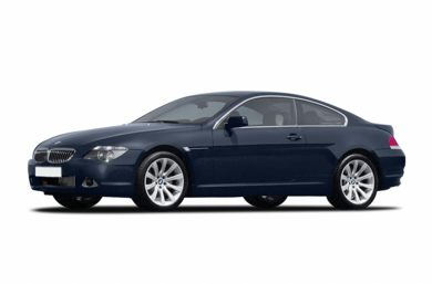 3/4 Front Glamour 2006 BMW 650