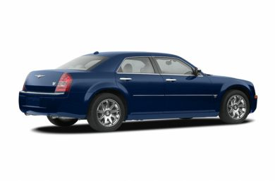 3/4 Rear Glamour  2006 Chrysler 300C