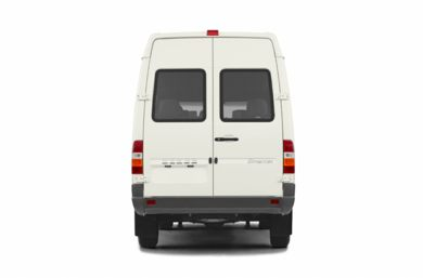 Rear Profile  2006 Dodge Sprinter Wagon 2500