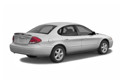 3/4 Rear Glamour  2006 Ford Taurus