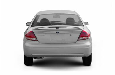 Rear Profile  2006 Ford Taurus