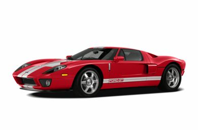 3/4 Front Glamour 2006 Ford GT