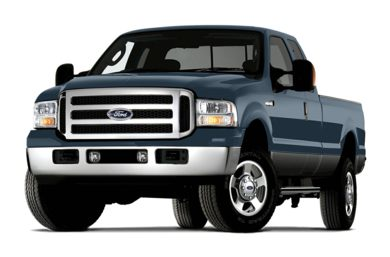 3/4 Front Glamour 2006 Ford F-350