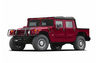 3/4 Front Glamour 2006 HUMMER H1