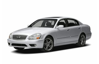 3/4 Front Glamour 2006 Infiniti Q45