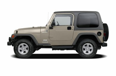 90 Degree Profile 2006 Jeep Wrangler