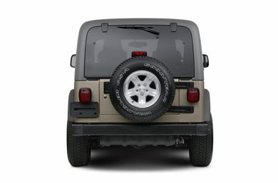 Rear Profile  2006 Jeep Wrangler