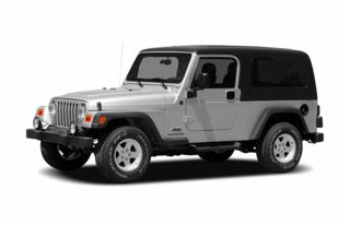 3/4 Front Glamour 2006 Jeep Wrangler