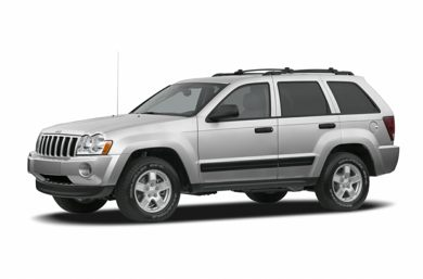 3/4 Front Glamour 2006 Jeep Grand Cherokee