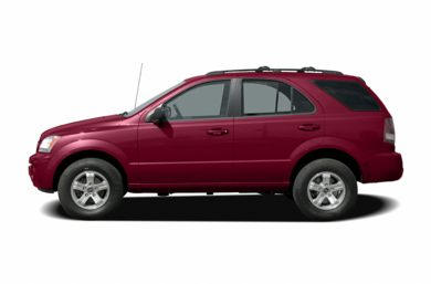 90 Degree Profile 2006 Kia Sorento