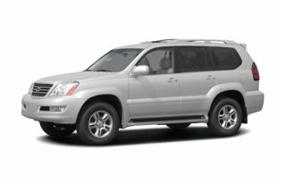 3/4 Front Glamour 2006 Lexus GX 470