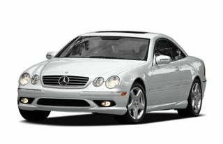 3/4 Front Glamour 2006 Mercedes-Benz CL500