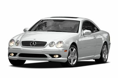 3/4 Front Glamour 2006 Mercedes-Benz CL55 AMG