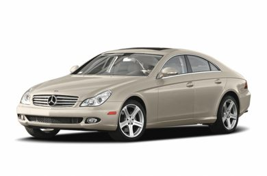 3/4 Front Glamour 2006 Mercedes-Benz CLS55 AMG