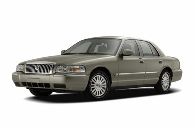 3/4 Front Glamour 2006 Mercury Grand Marquis
