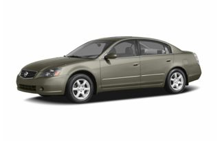 3/4 Front Glamour 2006 Nissan Altima