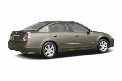 3/4 Rear Glamour  2006 Nissan Altima