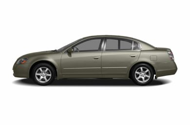 90 Degree Profile 2006 Nissan Altima