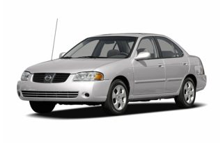3/4 Front Glamour 2006 Nissan Sentra