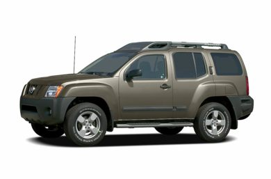 3/4 Front Glamour 2006 Nissan Xterra