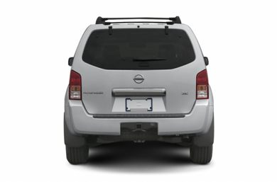 Rear Profile  2006 Nissan Pathfinder