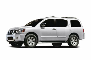 3/4 Front Glamour 2006 Nissan Armada
