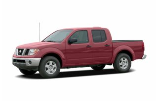 3/4 Front Glamour 2006 Nissan Frontier