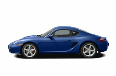 90 Degree Profile 2006 Porsche Cayman S