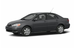 3/4 Front Glamour 2006 Toyota Corolla