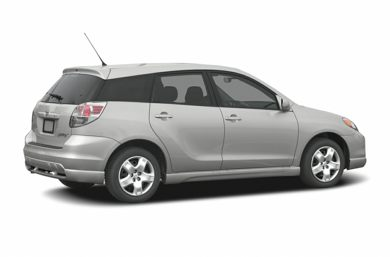 3/4 Rear Glamour  2006 Toyota Matrix
