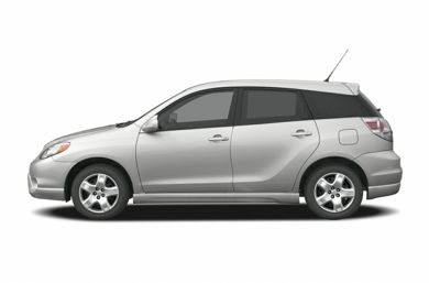 90 Degree Profile 2006 Toyota Matrix