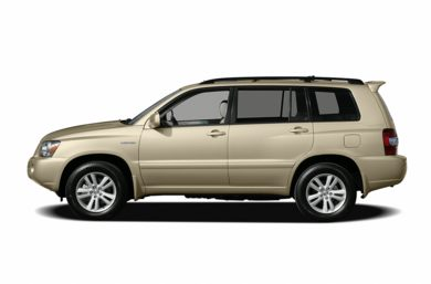 90 Degree Profile 2006 Toyota Highlander Hybrid