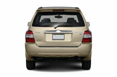 Rear Profile  2006 Toyota Highlander Hybrid