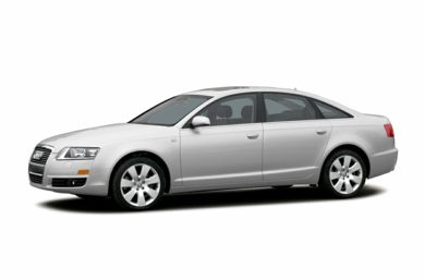 3/4 Front Glamour 2007 Audi A6