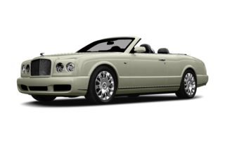 3/4 Front Glamour 2007 Bentley Azure