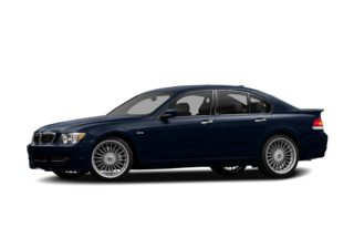 3/4 Front Glamour 2007 BMW ALPINA B7