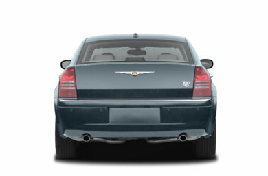 Rear Profile  2007 Chrysler 300C