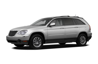 3/4 Front Glamour 2007 Chrysler Pacifica