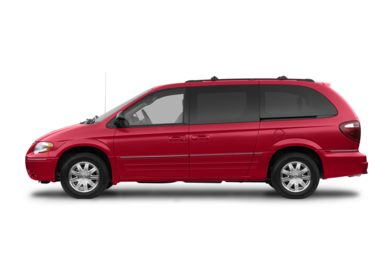 90 Degree Profile 2007 Chrysler Town & Country