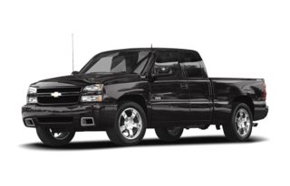 3/4 Front Glamour 2007 Chevrolet Silverado 1500 SS Classic