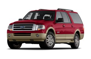 3/4 Front Glamour 2007 Ford Expedition EL