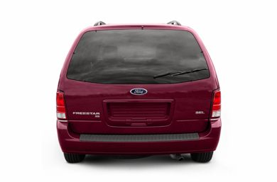 Rear Profile  2007 Ford Freestar