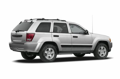 3/4 Rear Glamour  2007 Jeep Grand Cherokee
