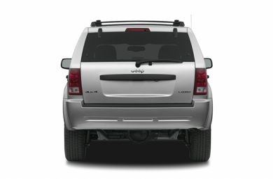 Rear Profile  2007 Jeep Grand Cherokee