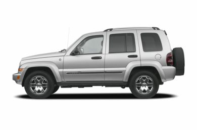 90 Degree Profile 2007 Jeep Liberty