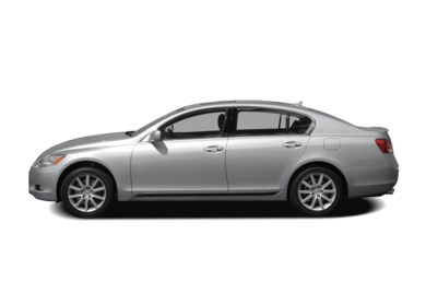 90 Degree Profile 2007 Lexus GS 430